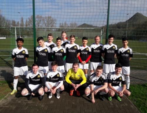 Schulmannschaft erneut 4. bei Saarland-Meisterschaften im Fußball
