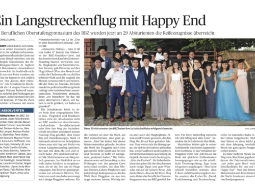 Ein Langstreckenflug mit Happy End
