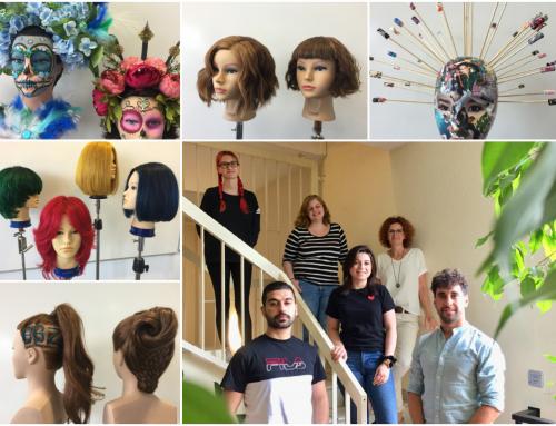 Kreative Umsetzung des Lehrplans für Frisuer:innen am BBZ St. Ingbert
